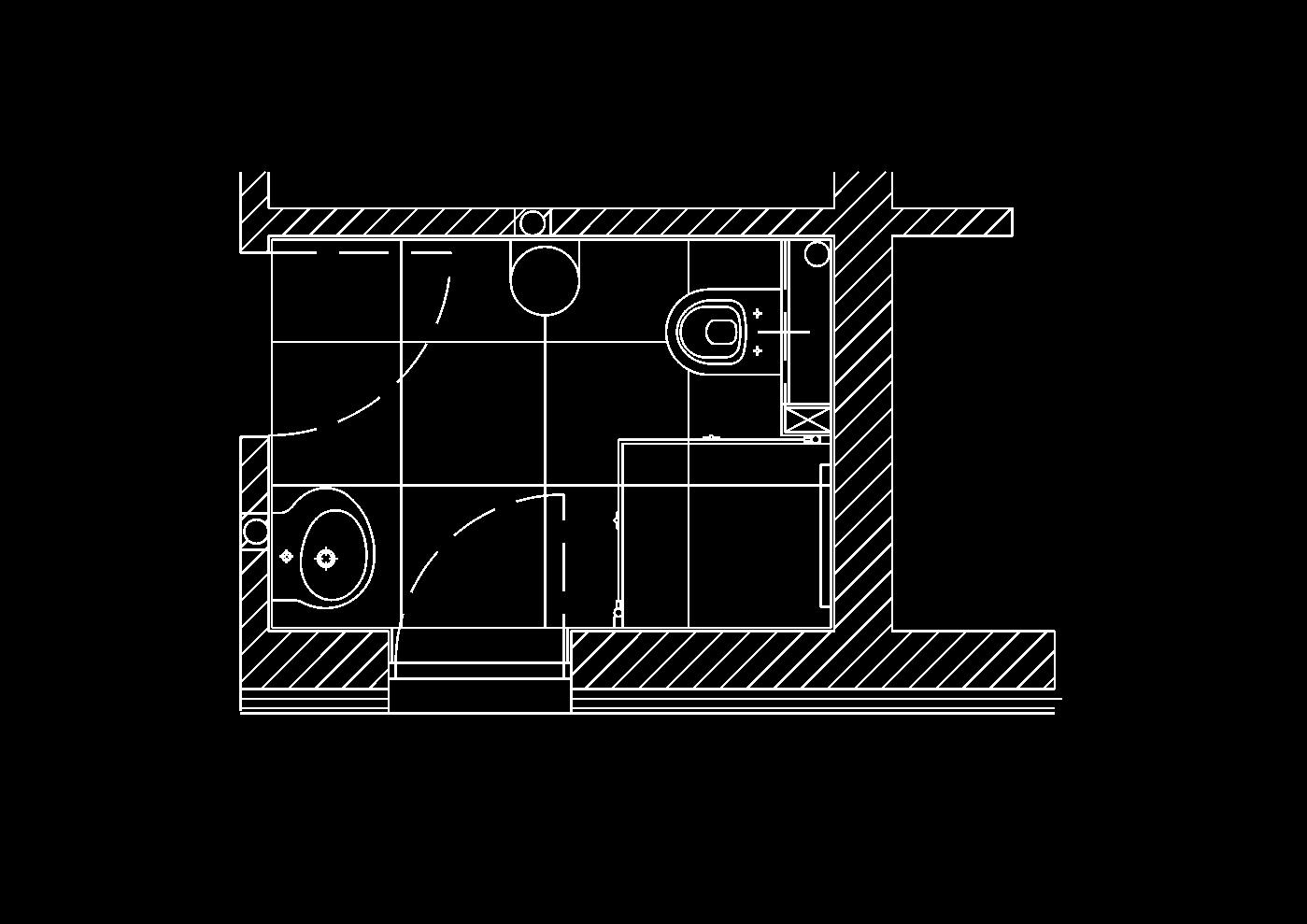 Inarte innenarchitektur wc 01 e for Dusche wc auf kleinstem raum